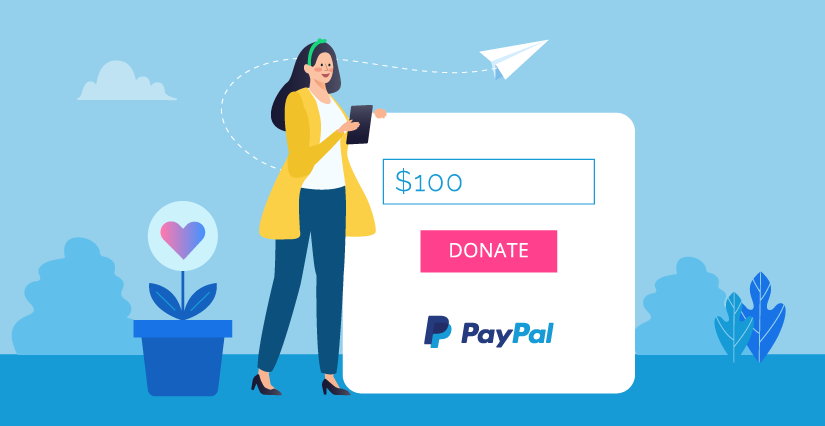 Create a PayPal donation form without coding